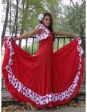 Trajes español rojo y blanco Yoremy Anita