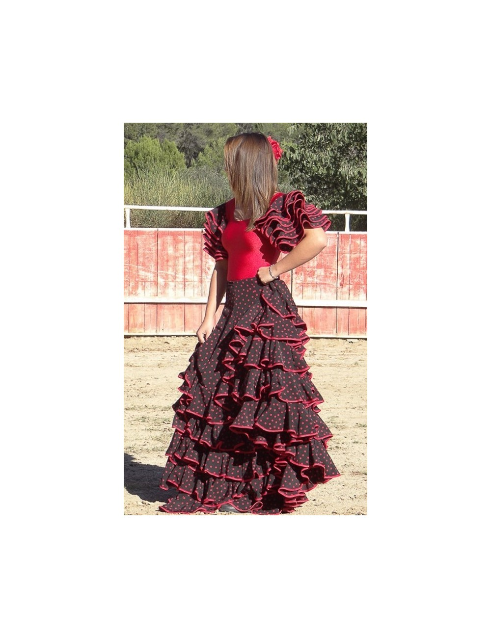 Jupe de flamenco Punto Rojo
