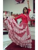 Jupe de flamenco Soleado
