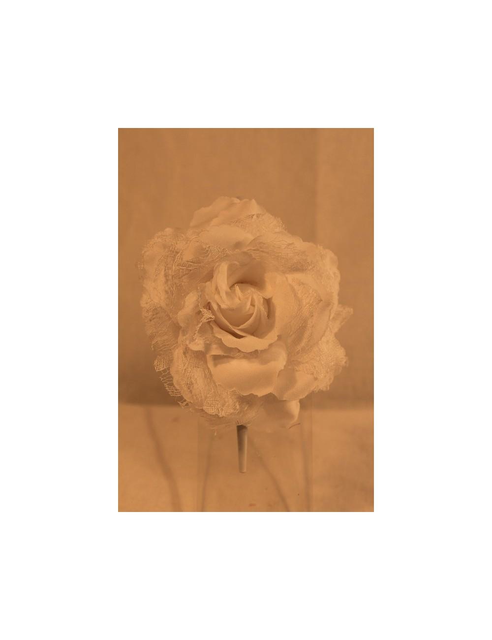 Fleur flamenco oeillet