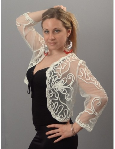 Bolero Morgane Blanc