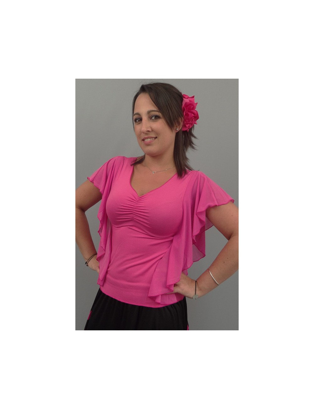 Top Negresco Fuschia