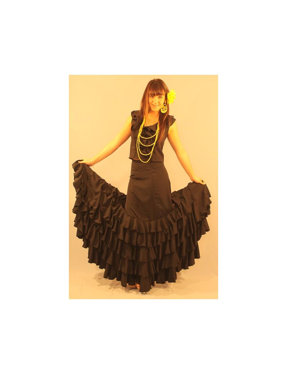 Jupe de flamenco Alexinne