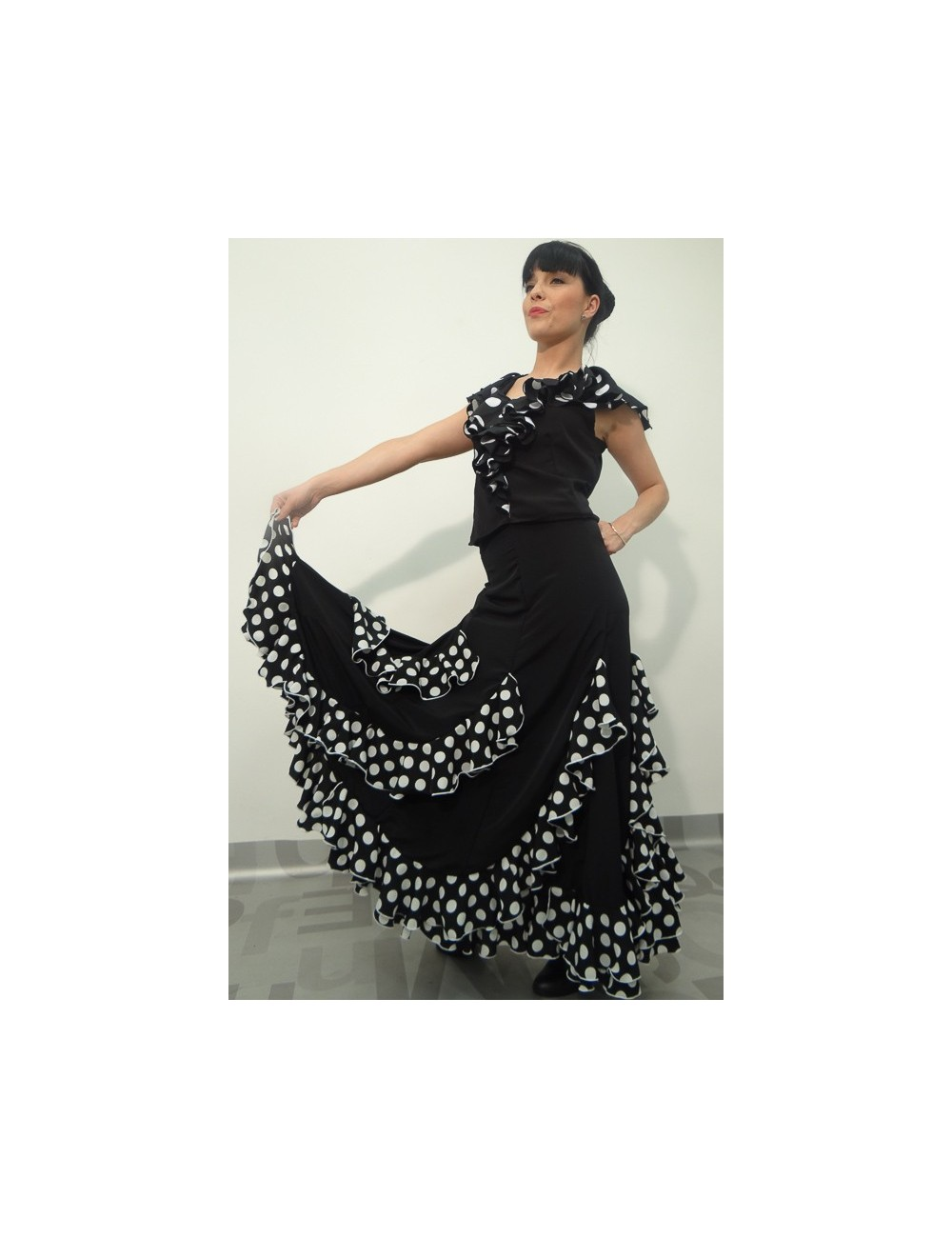 Jupe flamenco Gitana 2