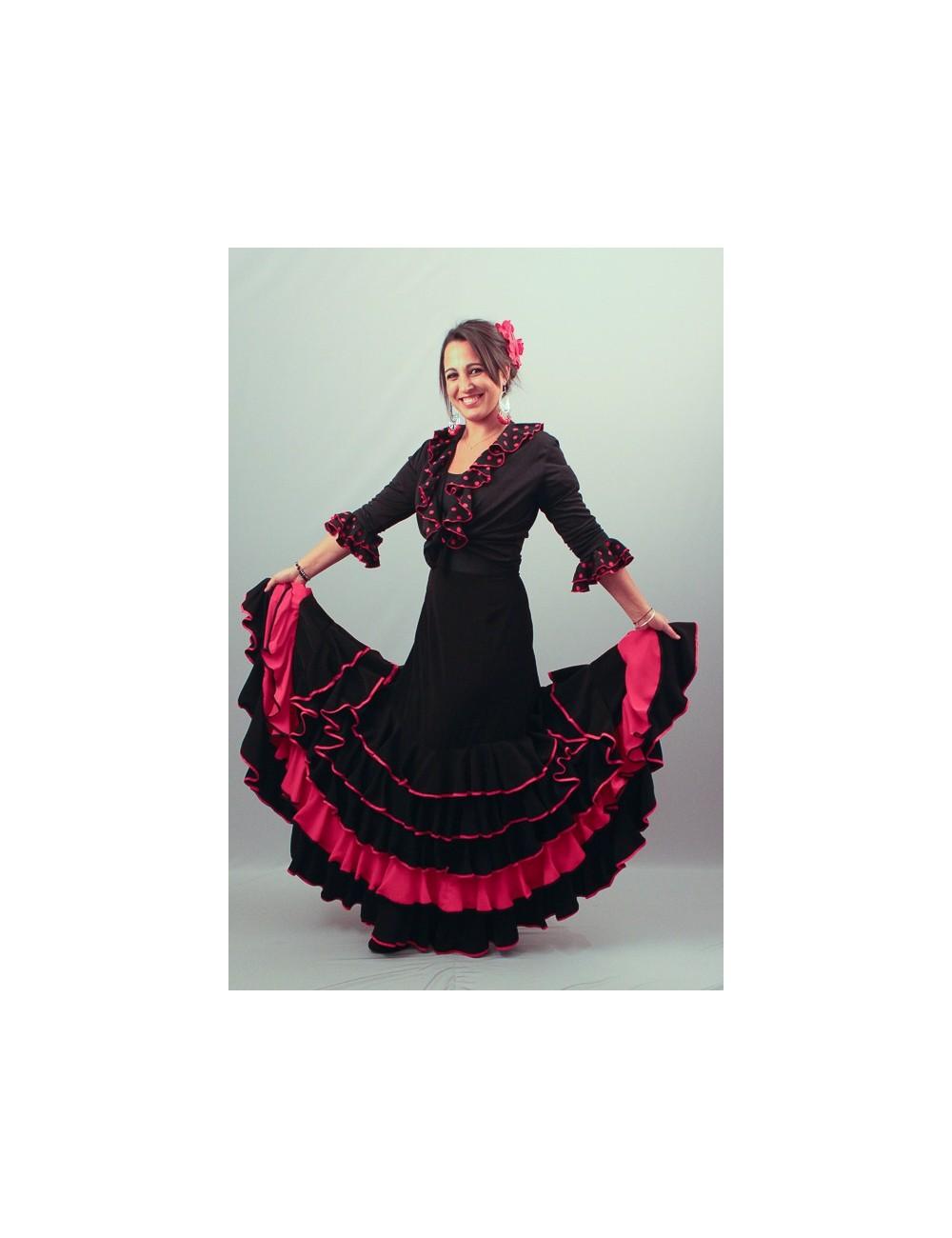 Jupe Gitane flamenco Marisma 2