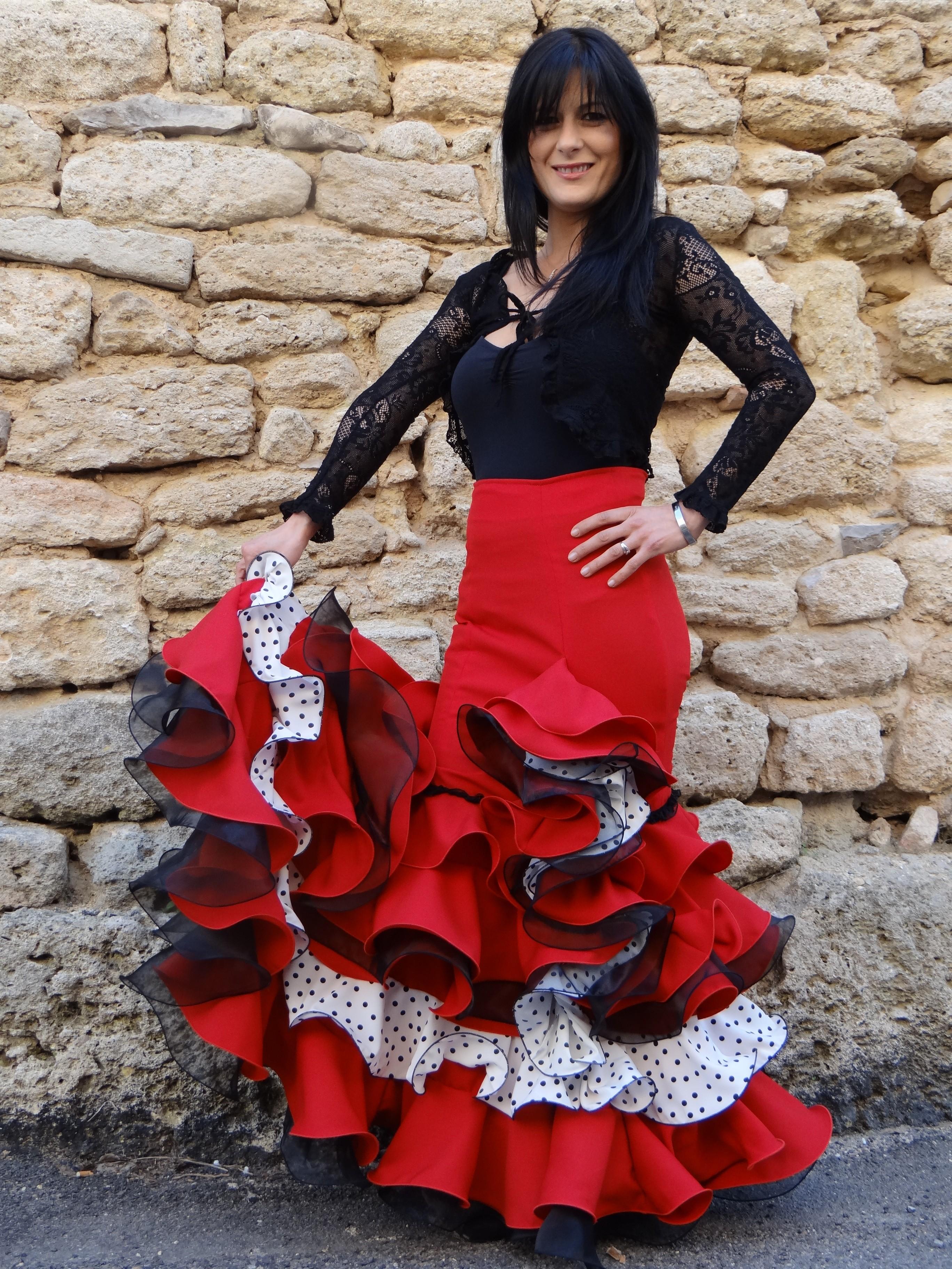 bdcd162588b06 Robe flamenco sevillane femme – Site de mode populaire