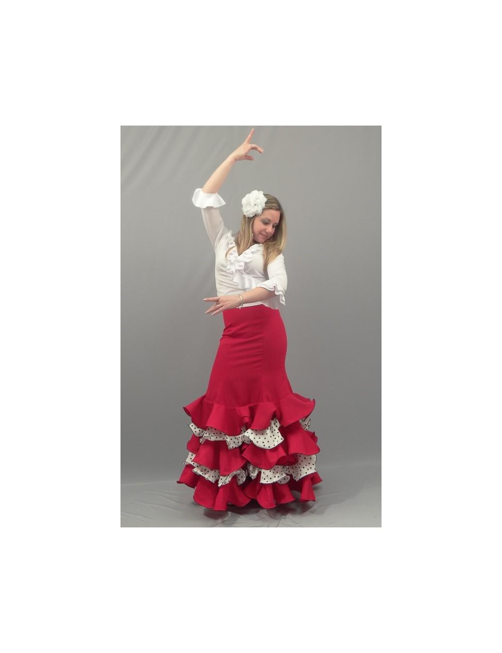 Jupe de flamenco Cordou Malaga