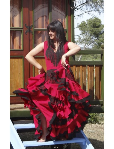 Hauts Flamenca Franges