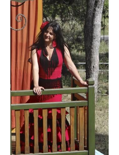 Hauts Flamenca Franges