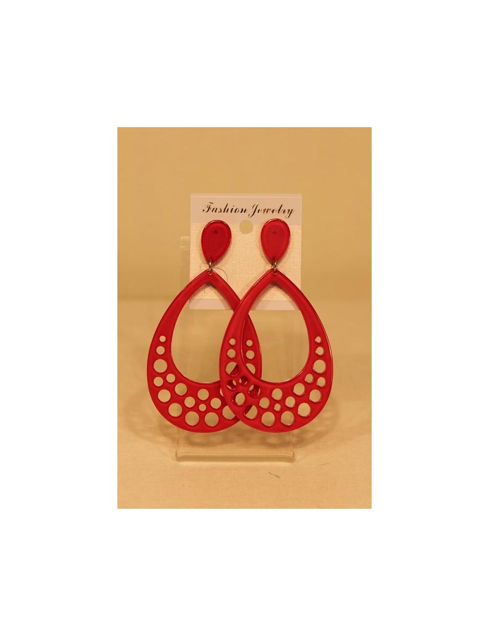 "Boucles d'oreilles flamenca ""Méthacylathe"""