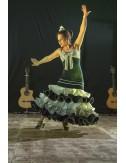 Robe de Flamenco artisanale Marinière