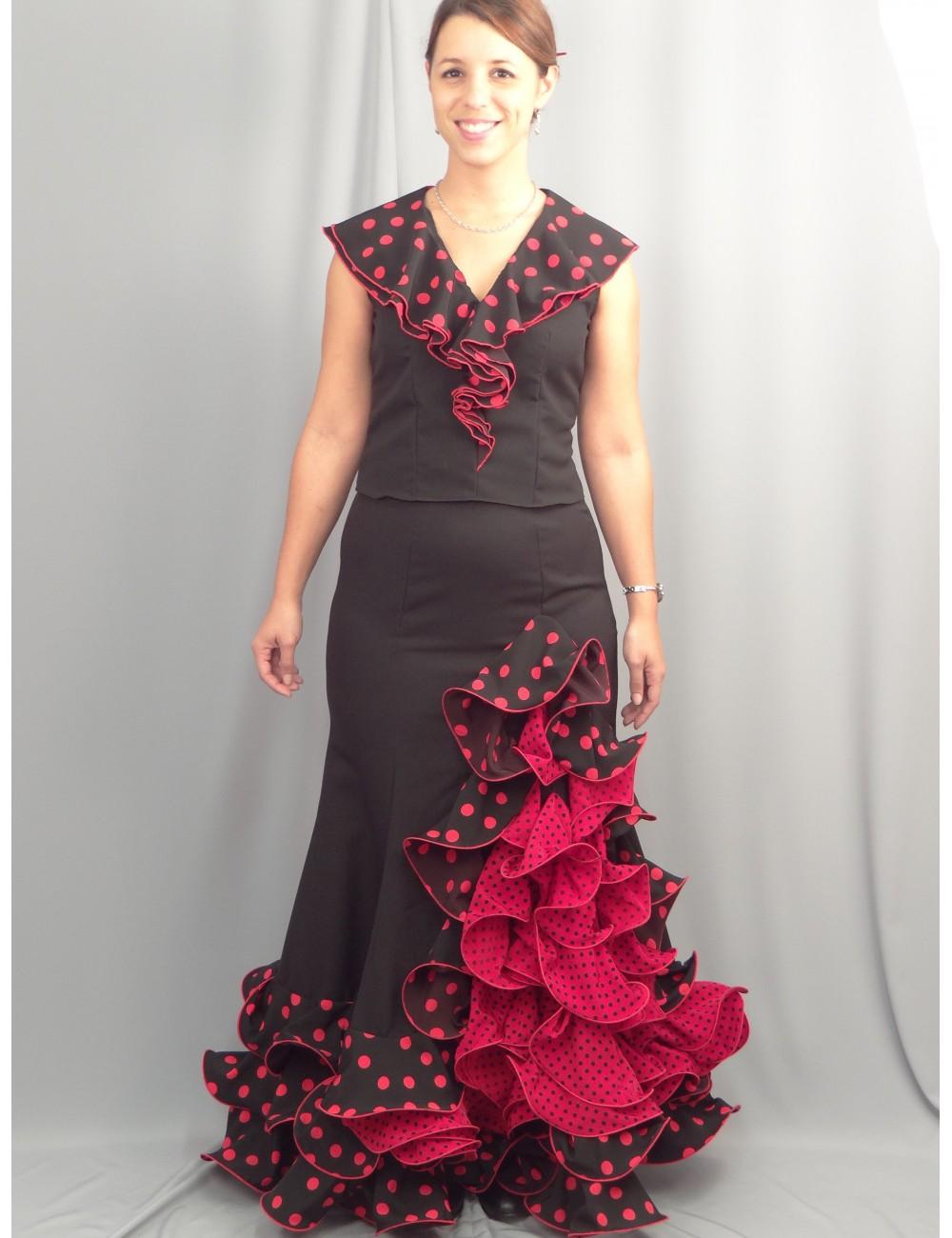 Jupe flamenco Cordou Volente Lucilia