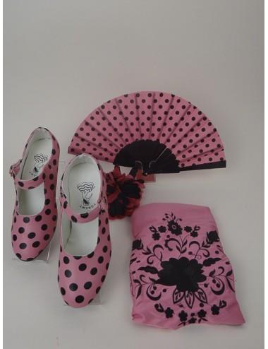 Kit accessoires déguisement flamenco 6