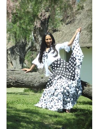 Jupe flamenco Antequera 2 prêt à porter