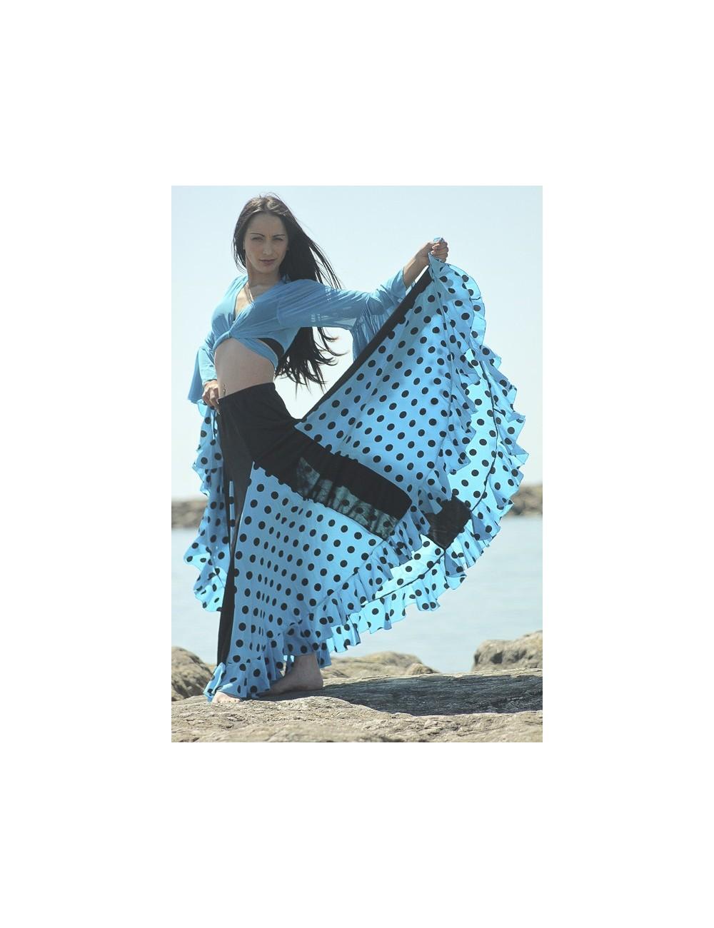 KIT N°6 tenue flamenco enfant Mélodia Turquessa