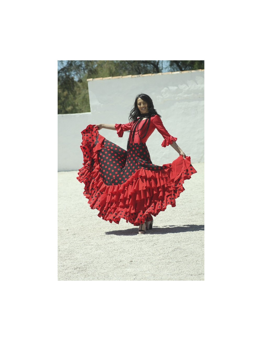 Jupe flamenco Madrilène 4