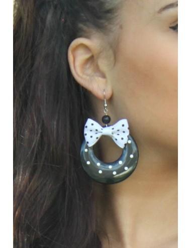 Boucles d'oreilles rouge