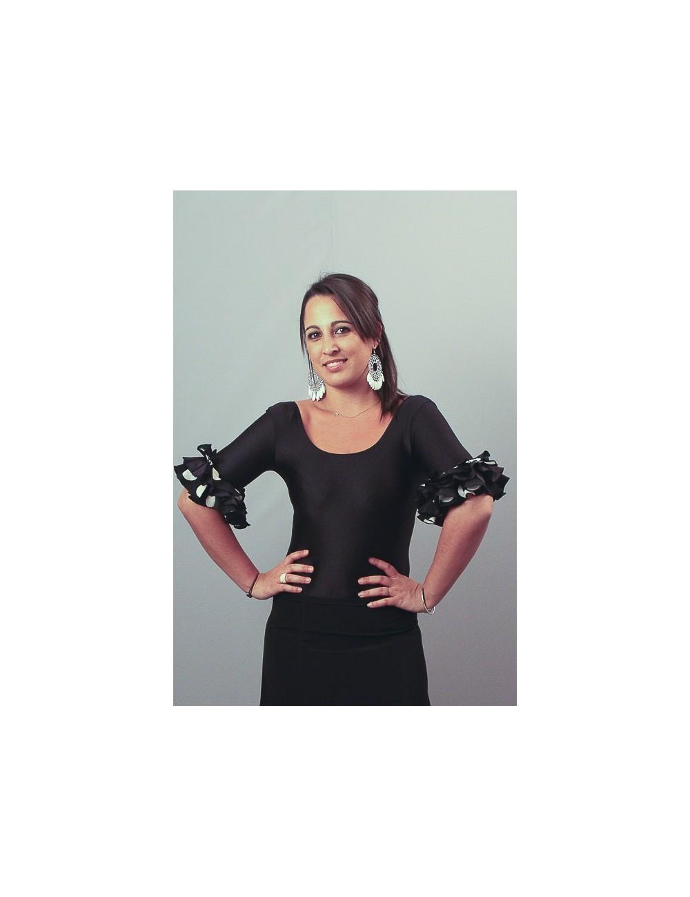 Body de flamenco Senora A Pois