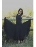 Robe de flamenco noire Anita