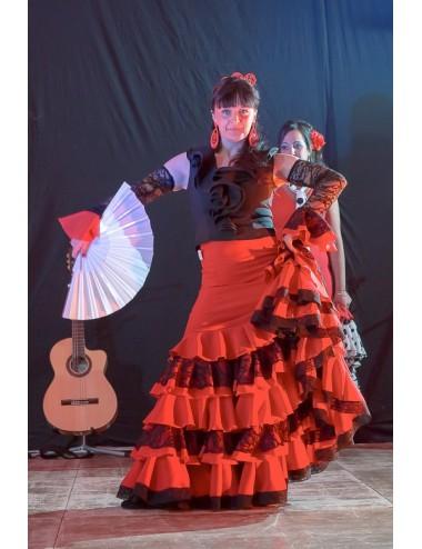 Jupe de flamenco Guapa dentelle 2