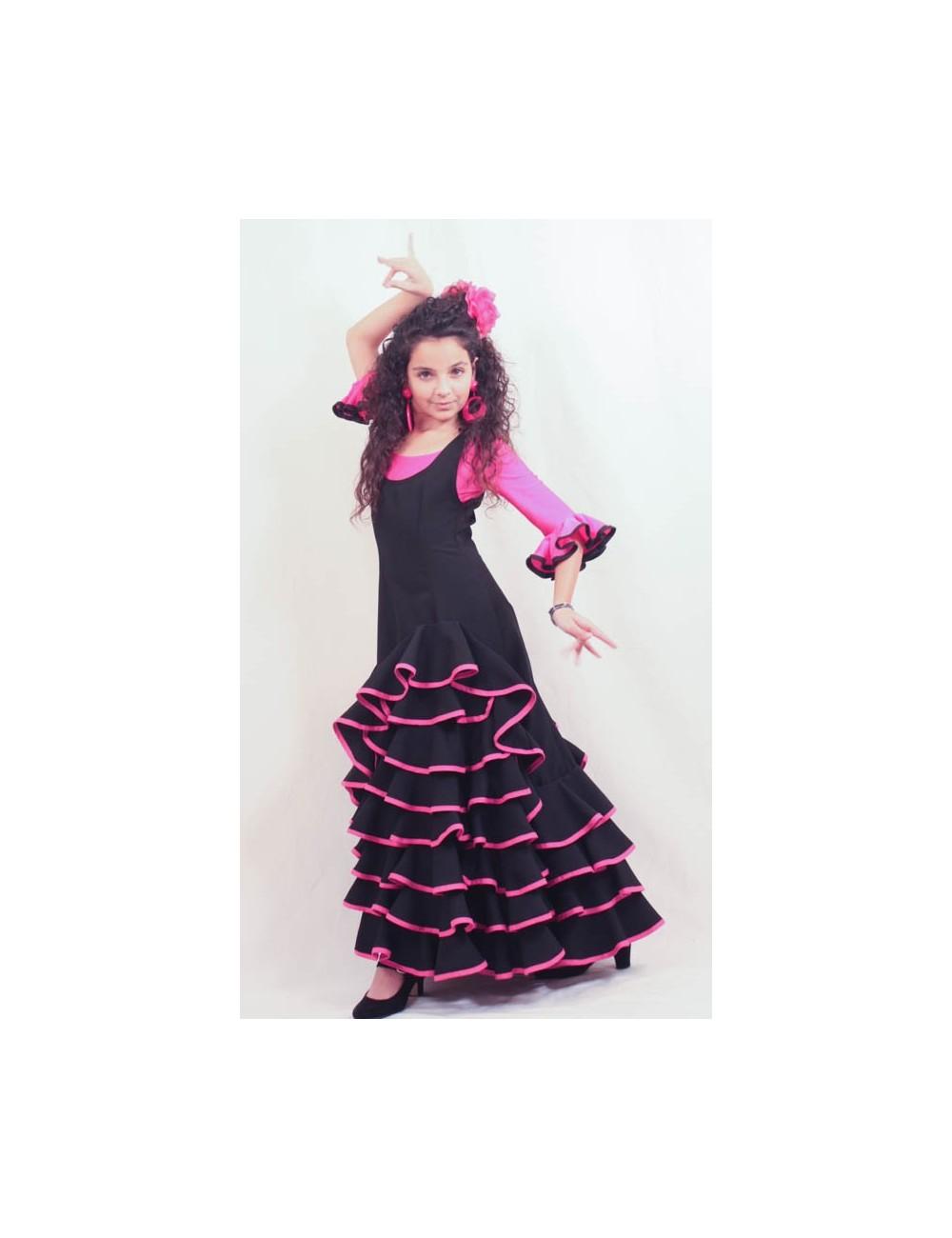 Robe de danse flamenco Célina