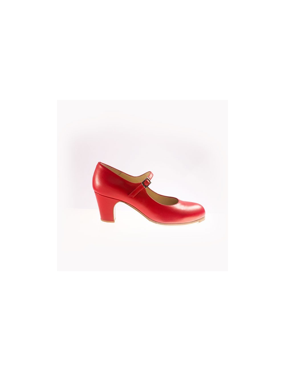 Chaussures pro flamenco Begona Correa M01 Rouge