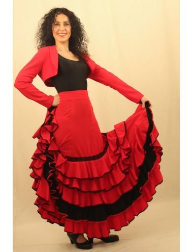 Jupe de flamenco Marisma 3