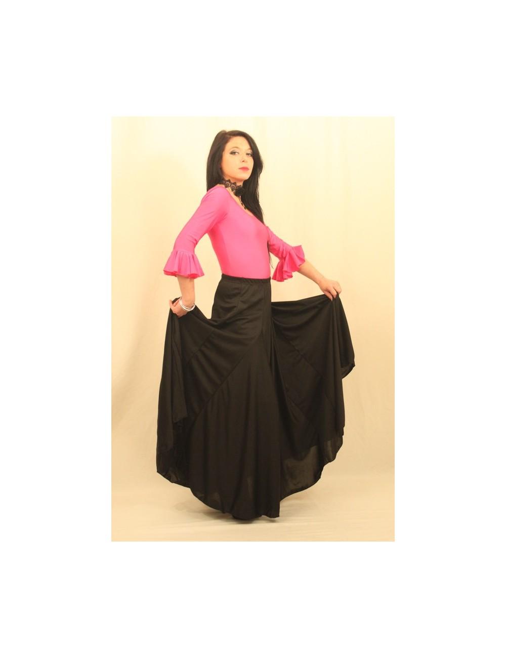 Kit Jupe et body flamenco Sans V