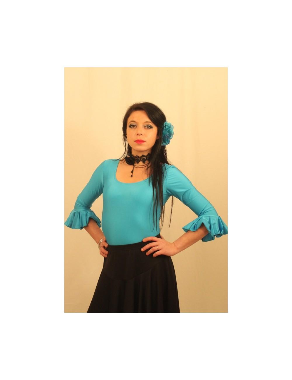 Body flamenco Turquoise
