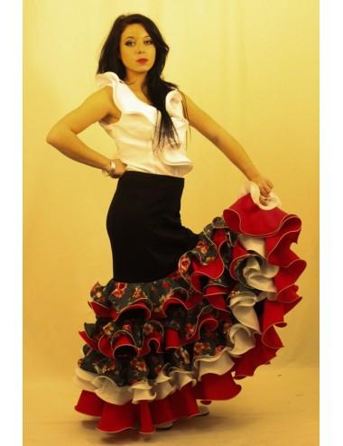 Jupe de flamenco Hélèna