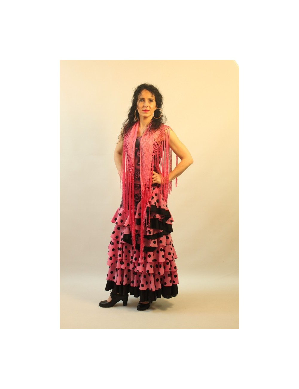 Robe de flamenco Shiva Rose