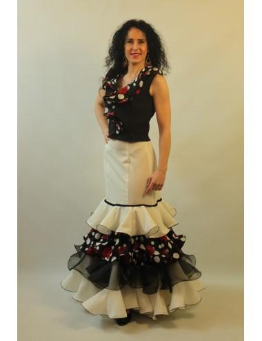 Jupe de flamenco Soléa