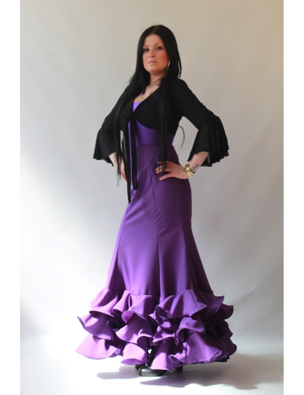 Jupe de flamenco Cordou Viola