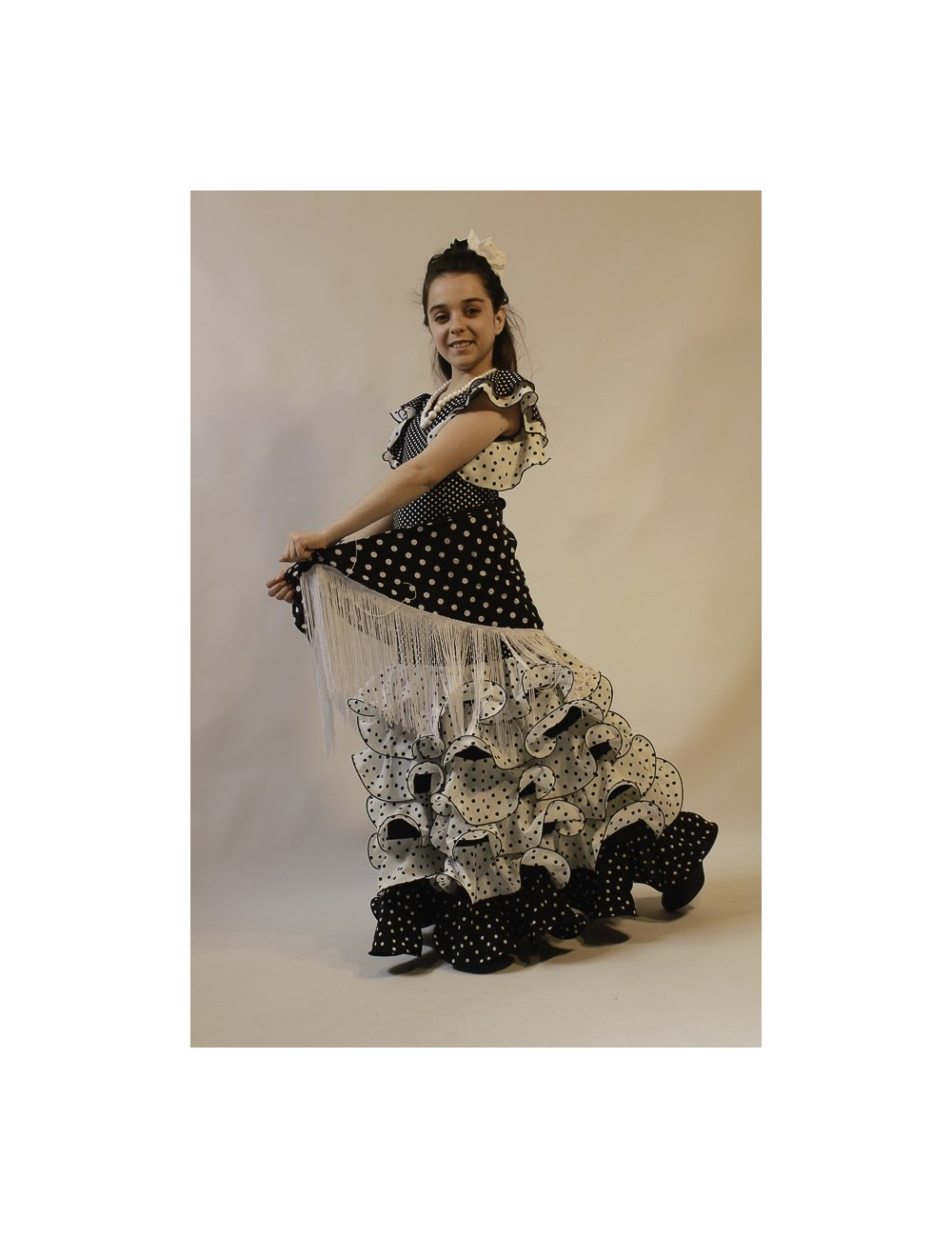 Robe de flamenco fille Malaga Sophia