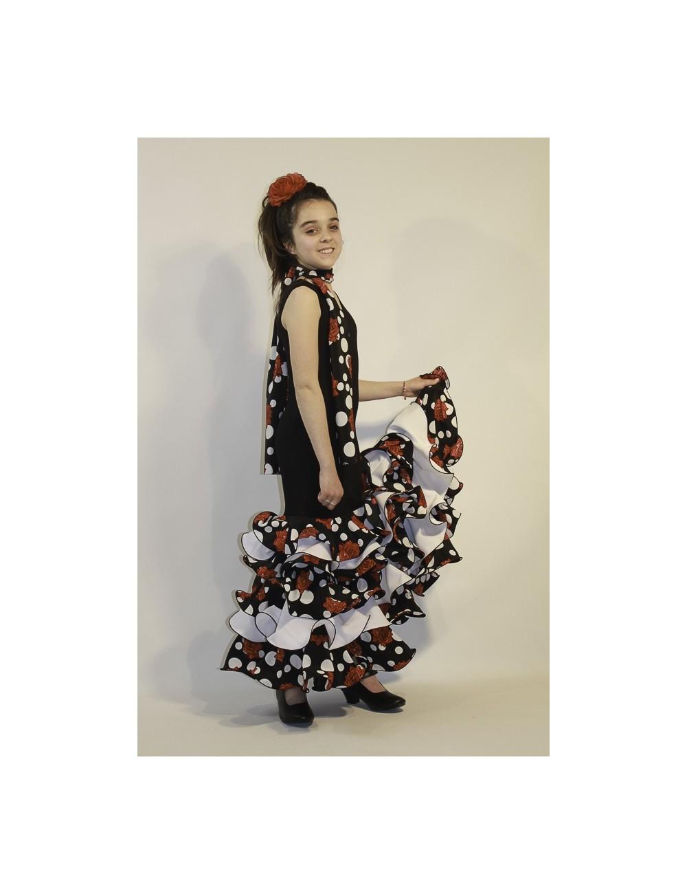 Robe de flamenco fille Malaga Isa 2