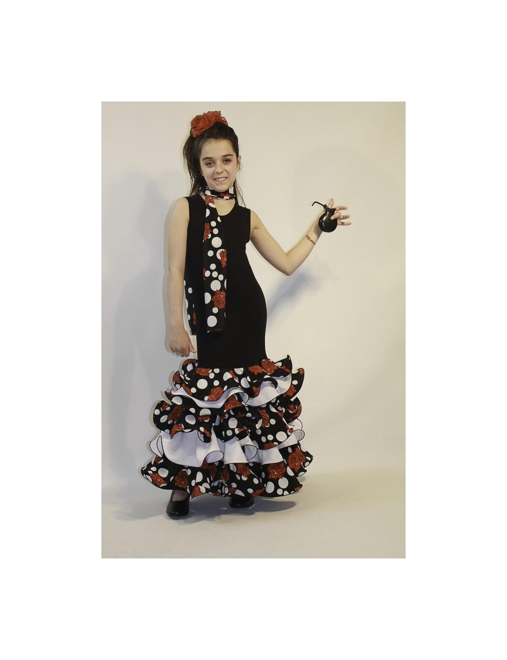 Robe de flamenco fille Noella Nina