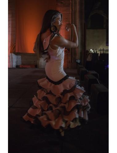Robe Flamenco artisanale Lisa Maria