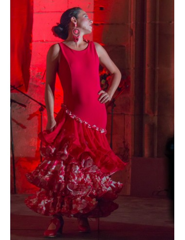 Robes Flamenco rouge Héléna 2