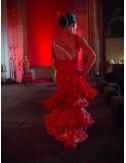 Trajes de Flamenca rojo Héléna 2