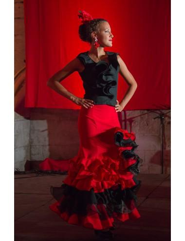 Jupe de flamenco Cordou volente Maria