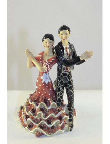 Figurine 3 Couple danseur