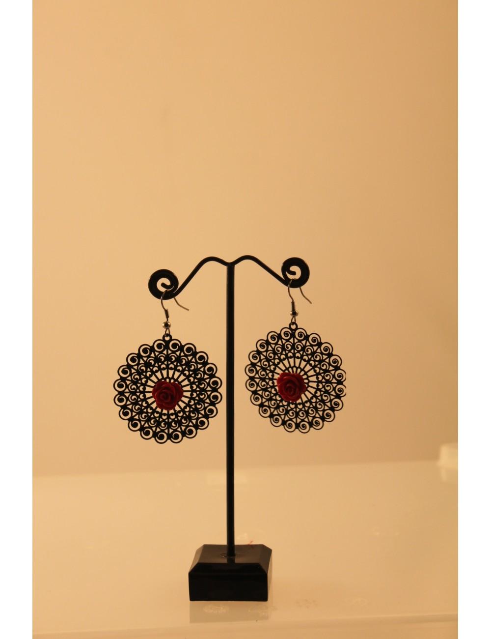 Boucles d'oreilles flamenco Crèole