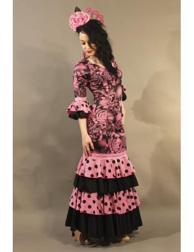 Robe de Flamenco Rose Shiva