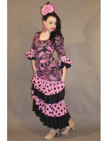 Vestido de flamenca Rosa Shiva