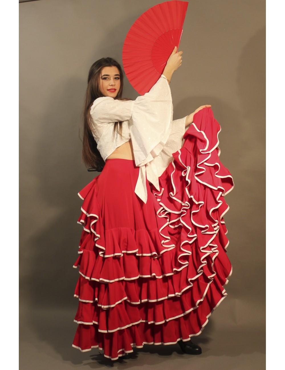 Jupe de flamenco Sensation