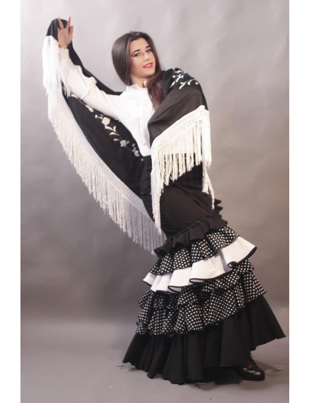 Jupe de flamenco Falbella