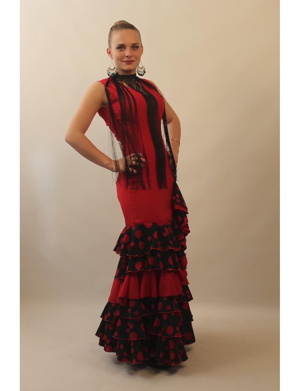 Robe Flamenco Gitane Nella