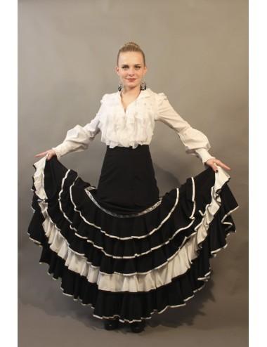 Flada flamenca negro Marisma 1