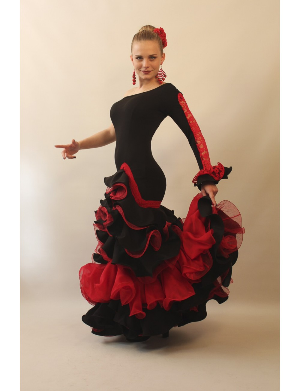 Robe de Flamenco Mischa