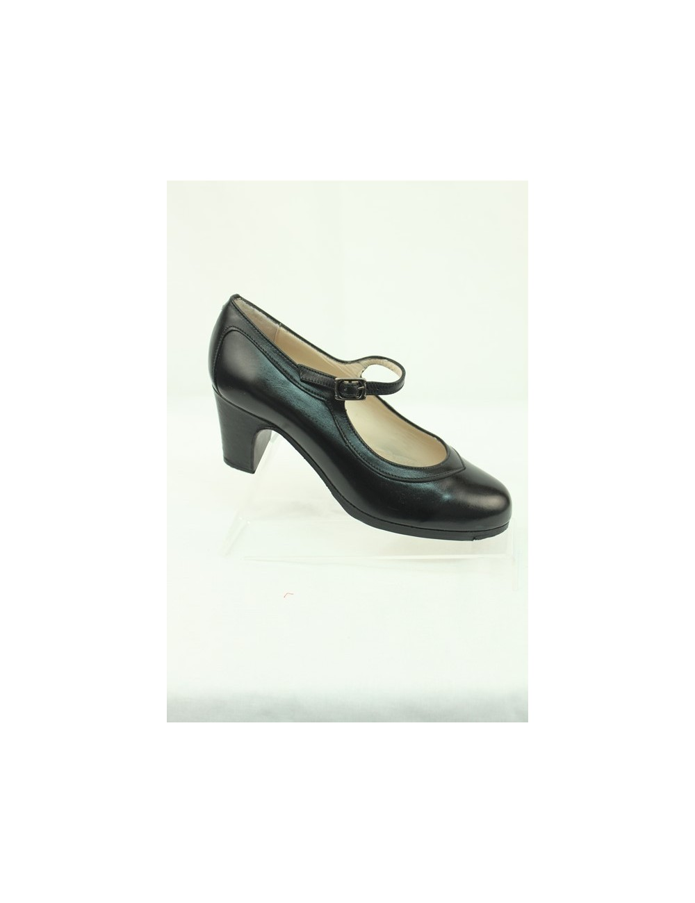 Chaussures de flamenco Begona Correa M01 noires